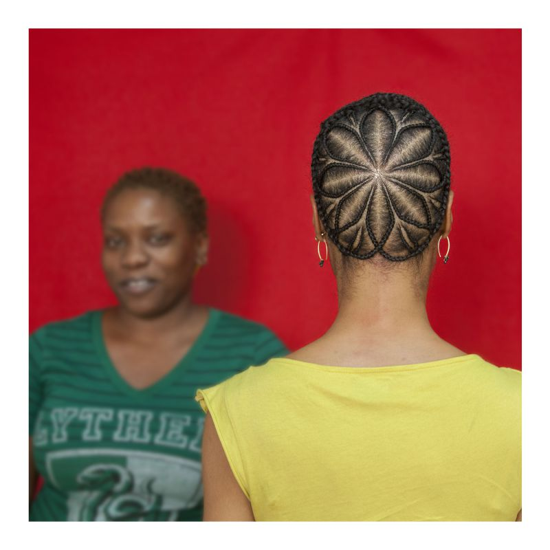 Extraordinary Women: Sonya Clark - Sonya Clark (American, Born 1967),The Hair Craft Project: Hairstylists with Sonya,2013,Eleven inkjet photographs,Eleven color photographs: Each 28