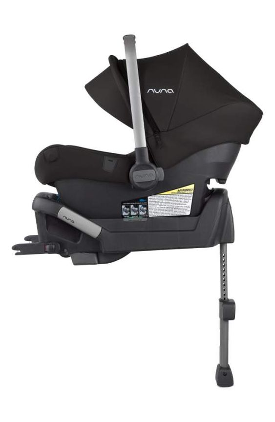 I recommend checking out the  Nuna PIPA lite lx  infant car seat.  I'm a fan of how light this seat is and the kick stand safety feature on the base.  This car seat also uses naturally fire-resistant wool blend fabric to avoid the use of added chemical fire retardants.  FYI: This product is not vegan.