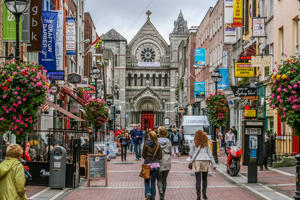 Dublin* - The city is home to a number of mulitnational corporations. The perfect place to boost your careeer after your post-graduate studies.