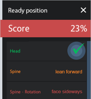 Simple Score View