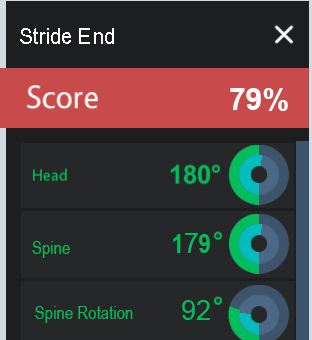 Advanced Score View