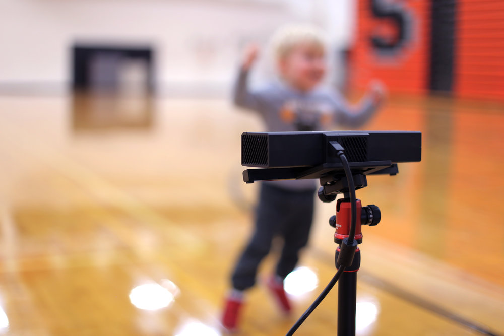 Physical Education Testing Camera, Data on Motor Skill for PE Teachers