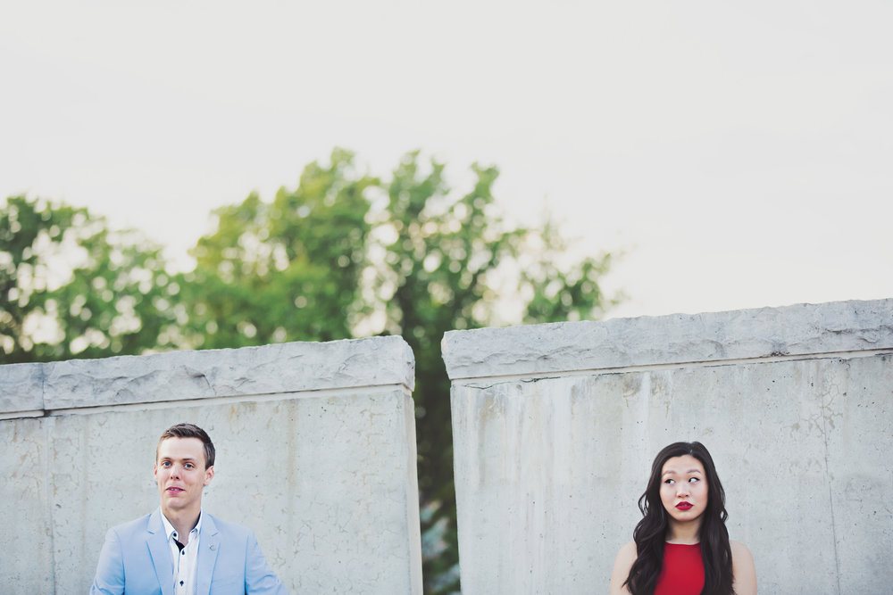 Stratford Ontario Engagement Photos