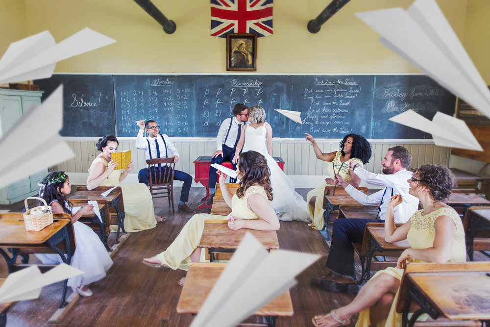 Fanshawe Pioneer Village Wedding Photos
