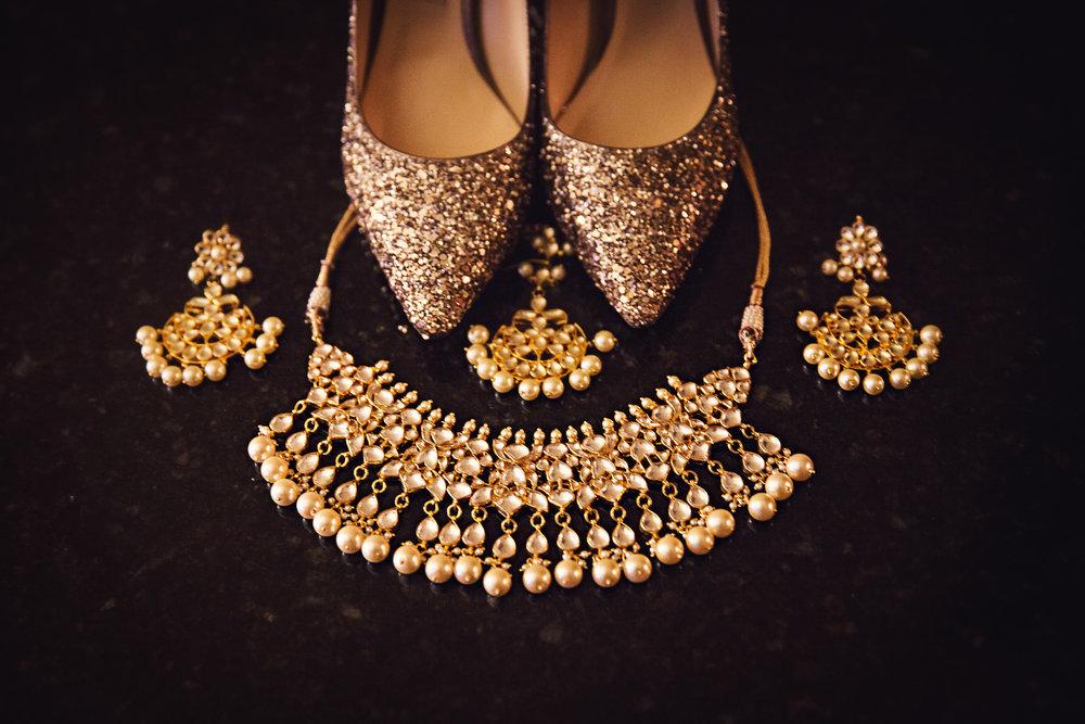 Geness's jewelry alone left me breathless!