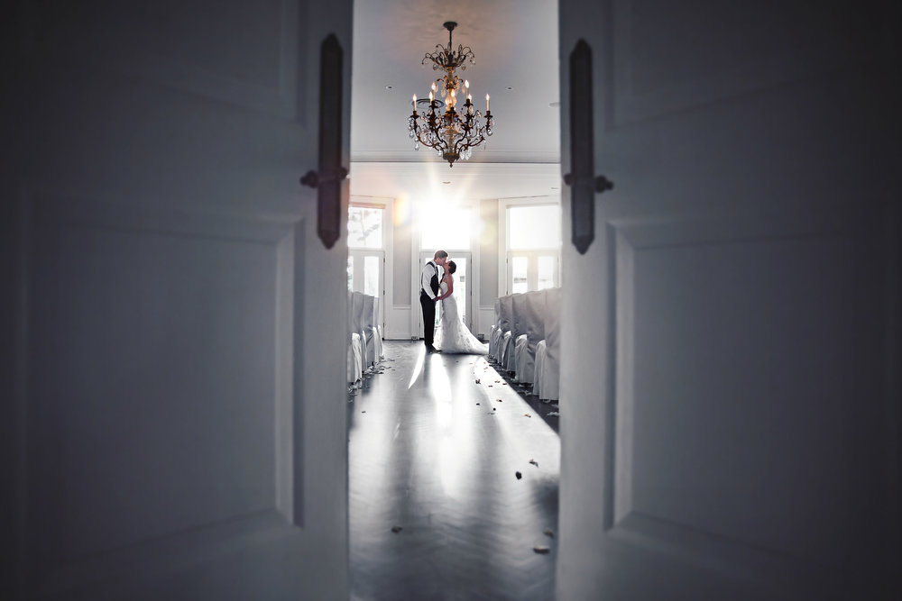 I stole Holly & Simon away for a few minutes to capture the gorgeous light spilling into the ceremony room next to their reception hall. And sooooo very happy I did!