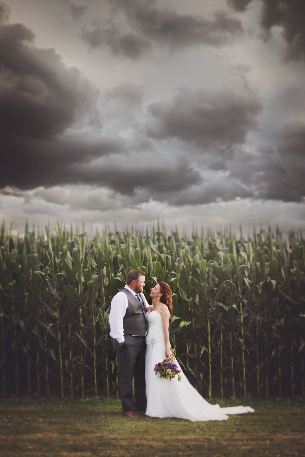 Christy and Stewart gave me creative license to create and capture whatever sort of art I wanted – and I am so grateful! One of my favourite bride and groom pics. Moody, brooding and beautiful!