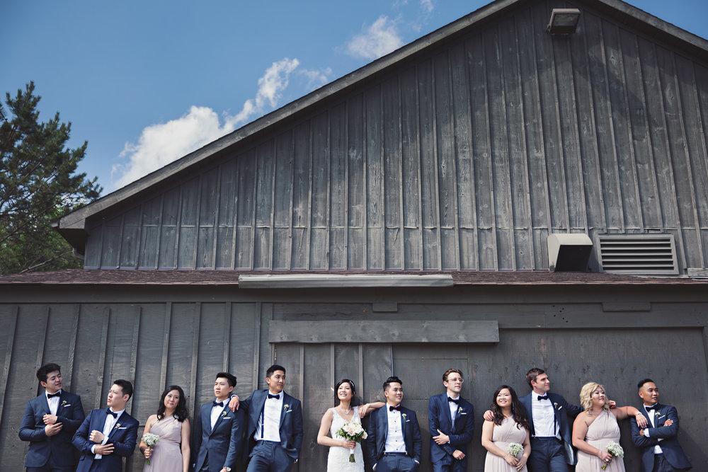 Bellamere Winery London Wedding Photos