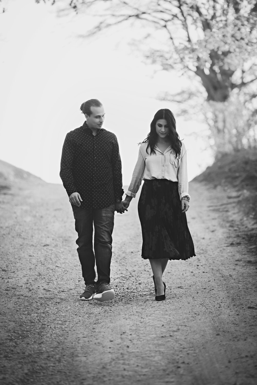 Scotsdale Farm Fall Engagement Photos