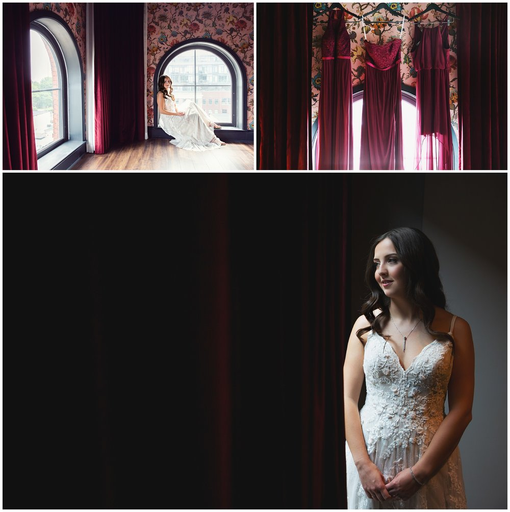 I mean…c'mon. Seriously. How GORGEOUS is Dasa? And that room at The Broadview Hotel isn't too shabby, either!