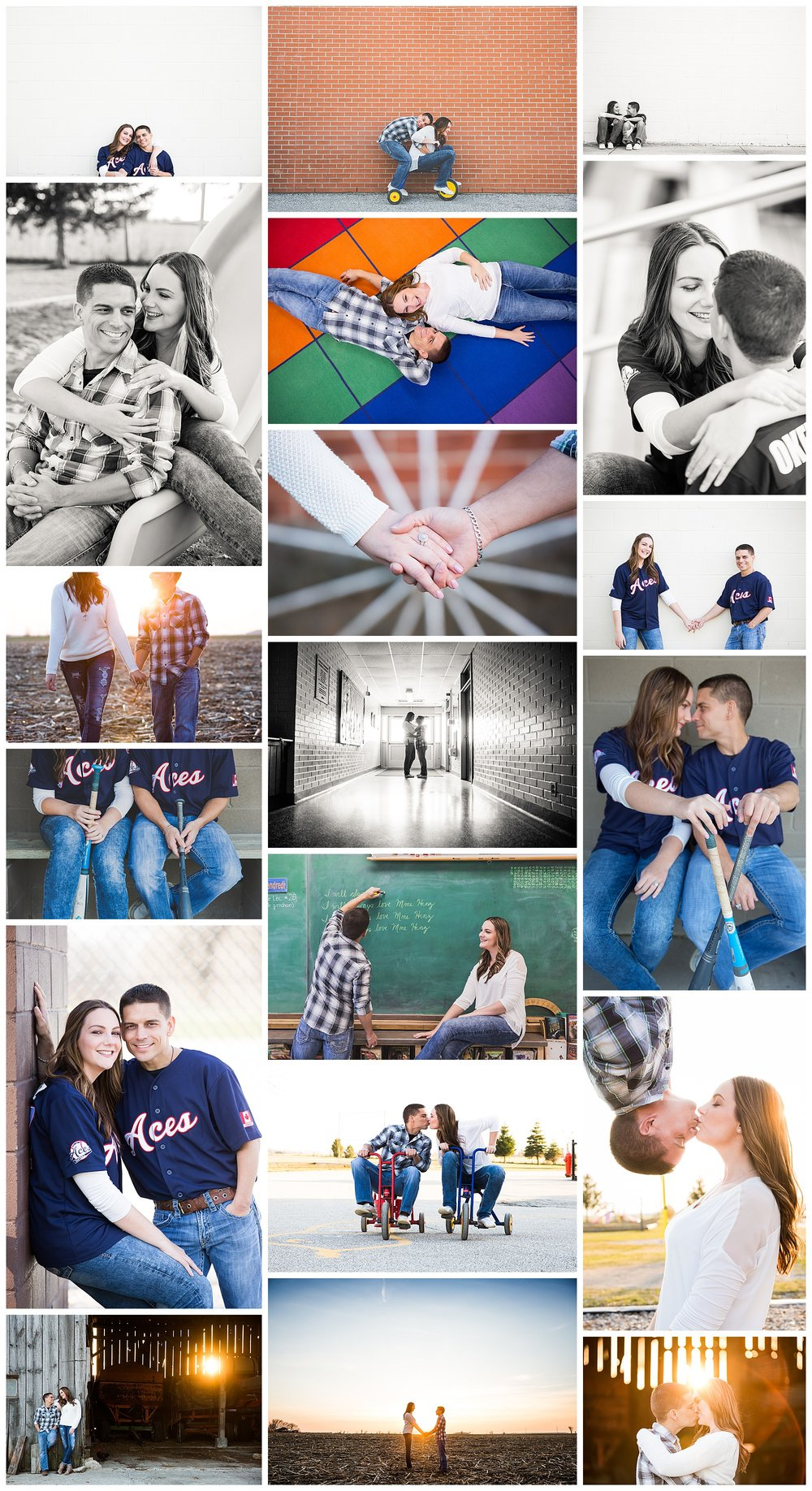 Brookville Ontario Public School engagement photography by VanDaele & Russell