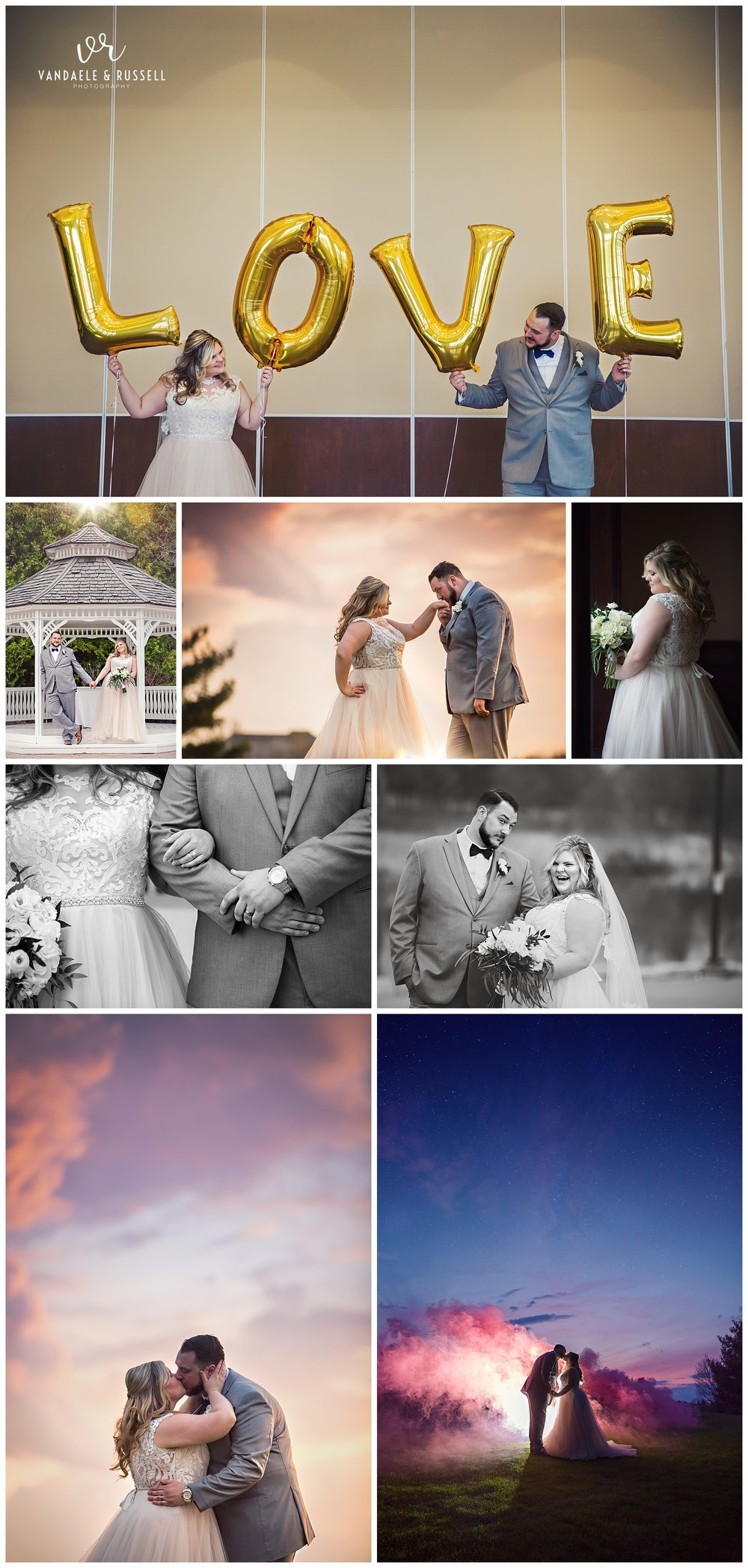 Deer Creek Golf & Country Club, Ajax Ontario wedding photography by VanDaele & Russell