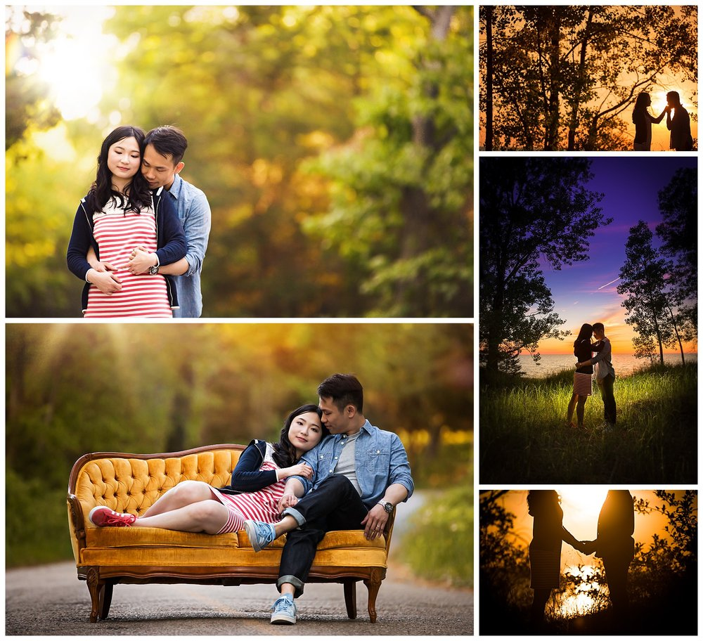 Grand Bend, Ontario engagement photography by VanDaele & Russell