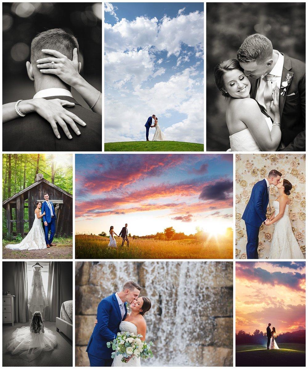 Whistle Bear Golf Club, Cambridge, Ontario wedding photography by VanDaele & Russell