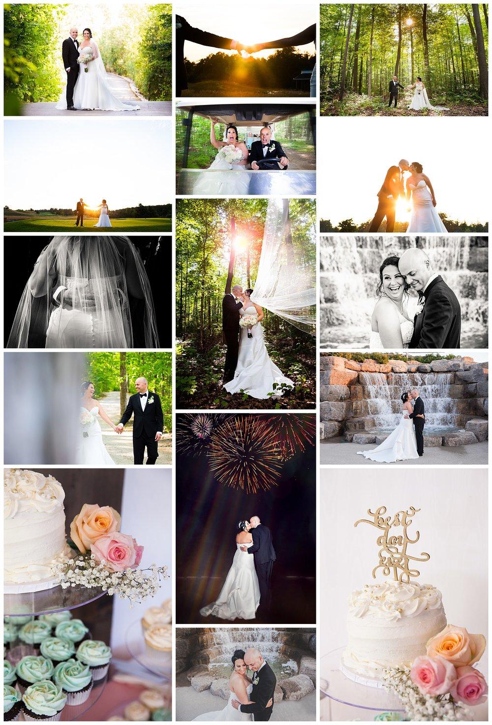 Whistle Bear Golf Club, Cambridge, Ontario wedding photos by VanDaele & Russell