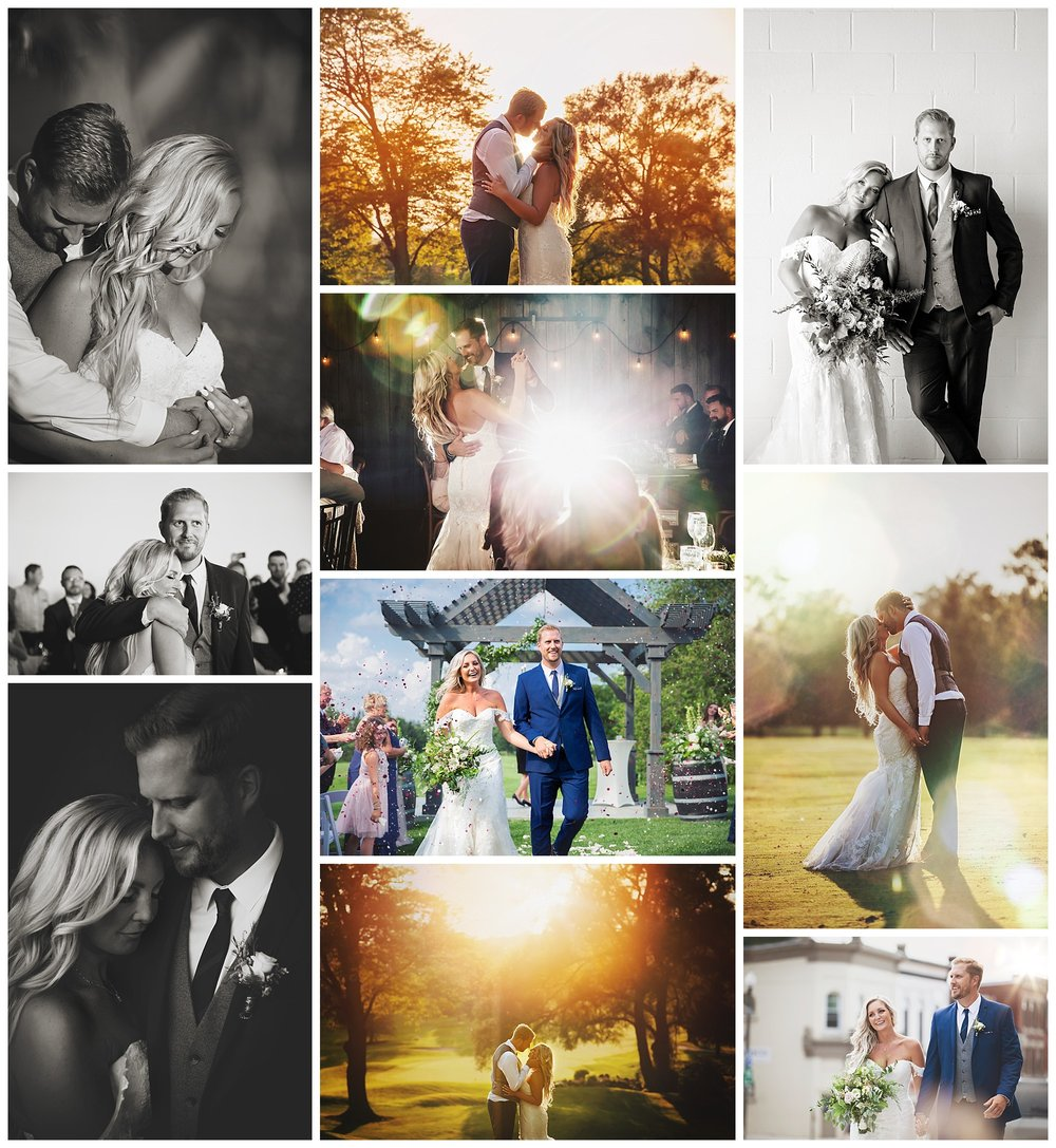 St. Mary's Golf & Country Club, St. Mary's, Ontario wedding photography by VanDaele & Russell