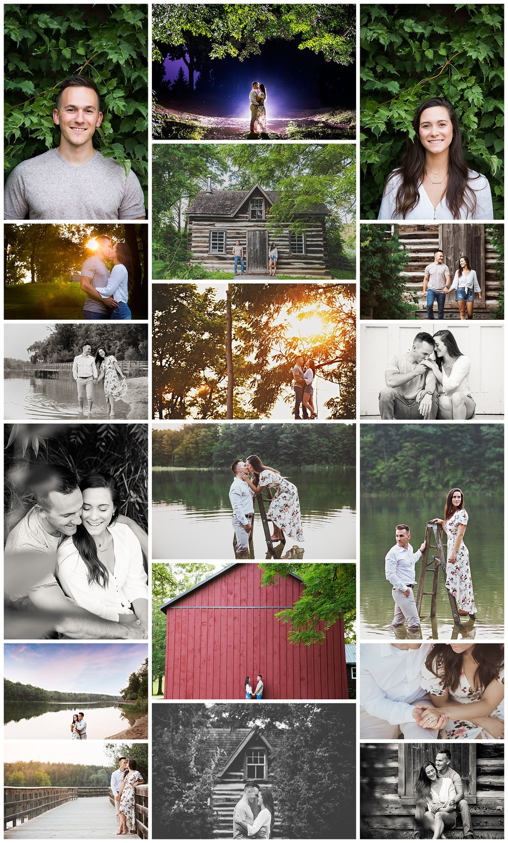 Kelso Conservation Area, Milton, Ontario engagement photos by VanDaele & Russell