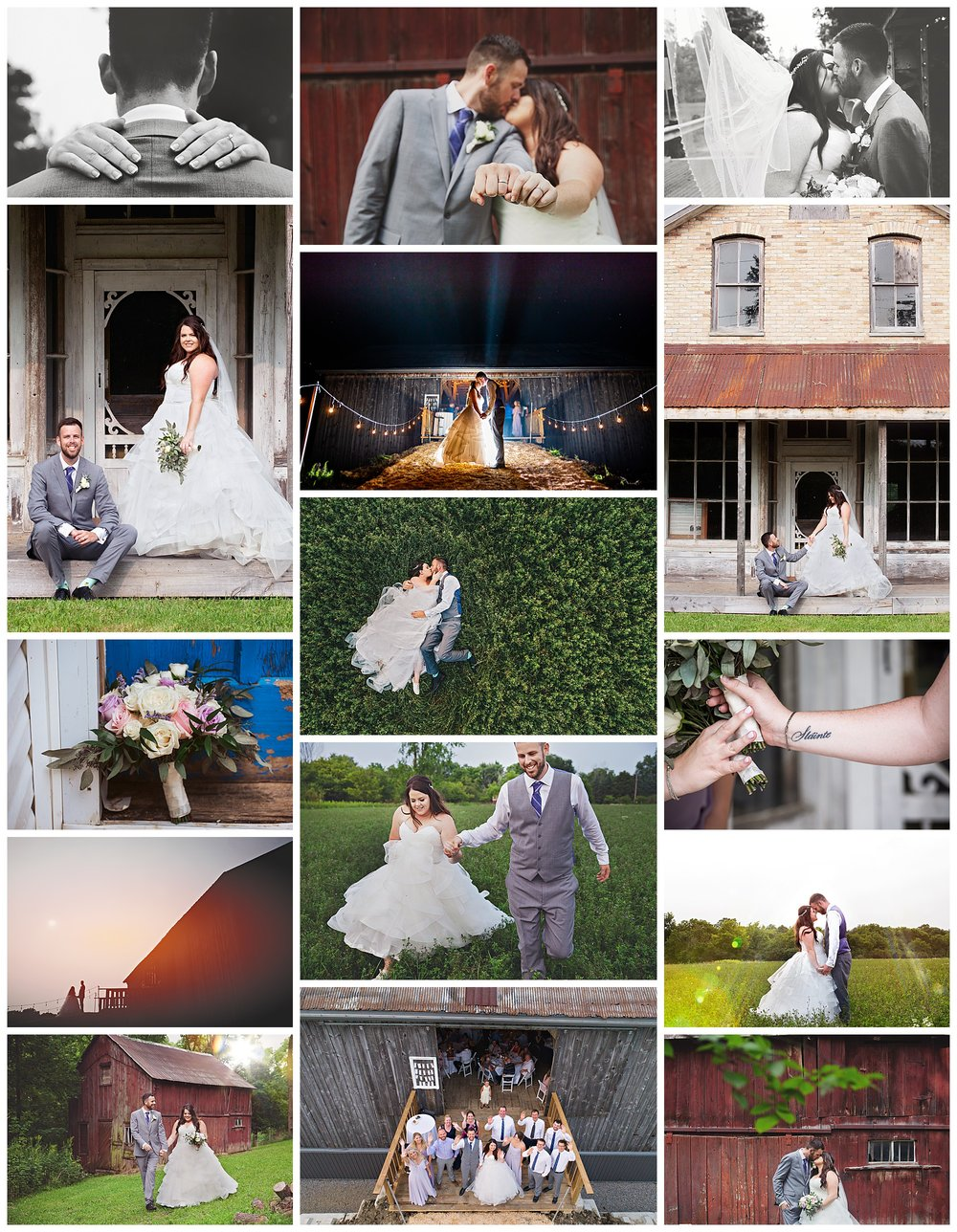 Strathroy, Ontario wedding photography by VanDaele & Russell