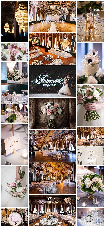 Fairmont Royal York, Toronto, Ontario wedding photography by VanDaele & Russell