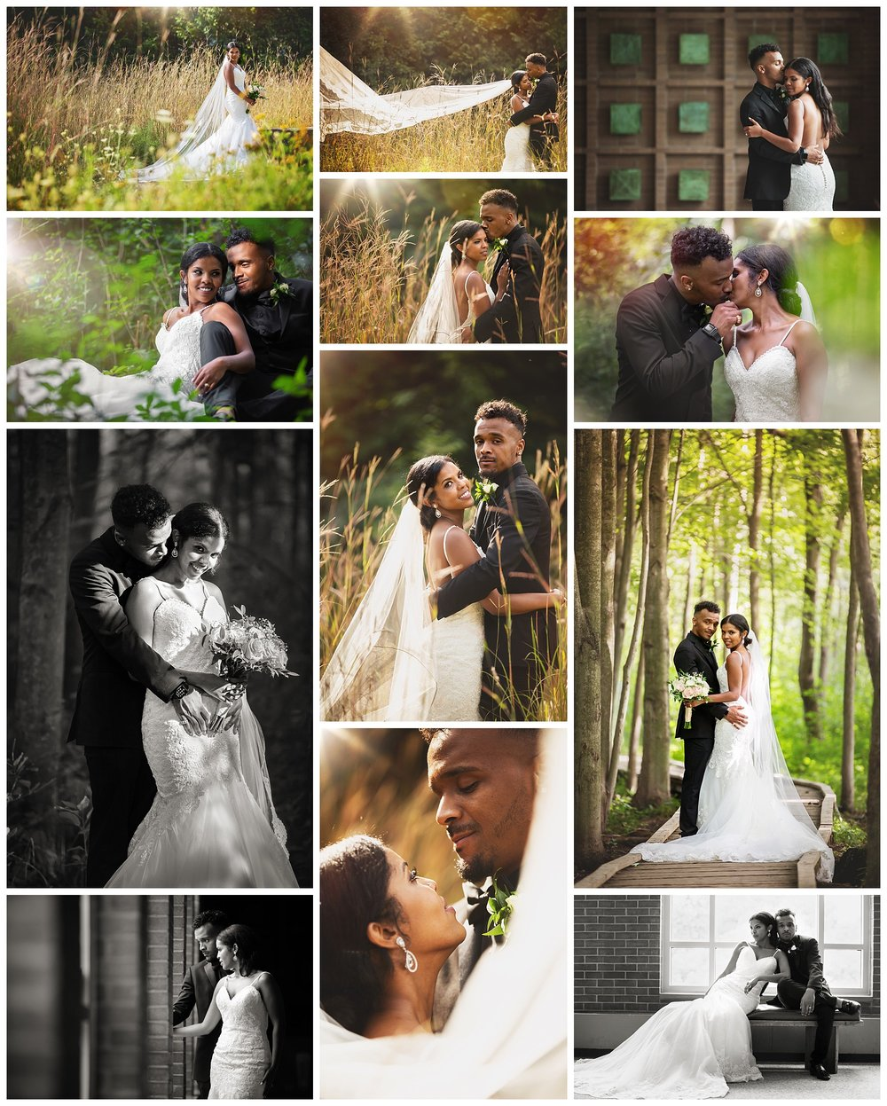 Centennial Hall & Sifton Bog, London, Ontario wedding photography by VanDaele & Russell