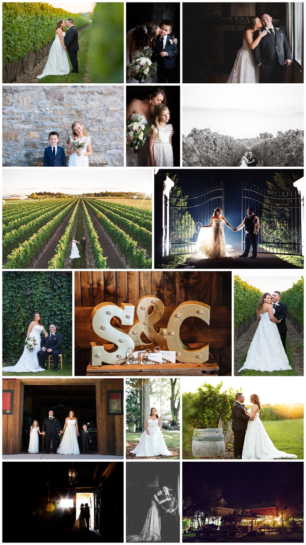 Honsberger Estates, Niagara, Ontario wedding photography by VanDaele & Russell