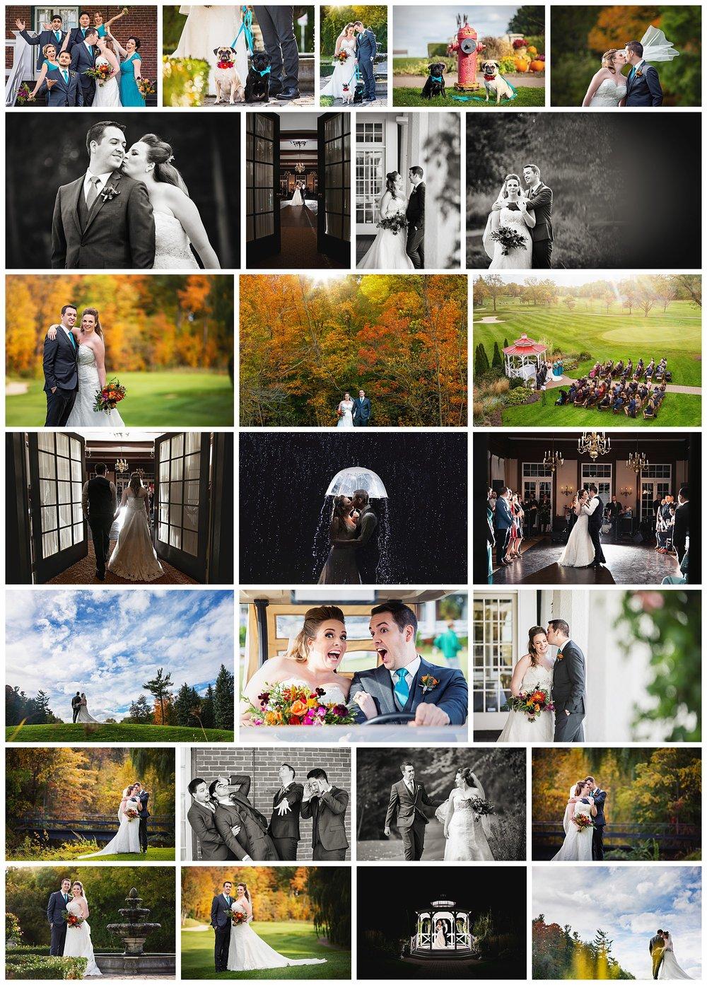 Scarboro Golf & Country Club, Scarborough, Ontario wedding photos by VanDaele & Russell