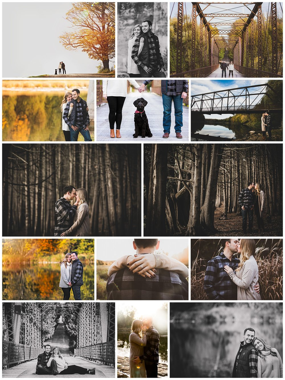 Goderich, Ontario engagement photography by VanDaele & Russell