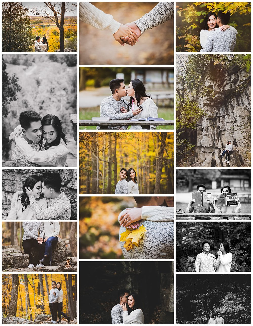 Rattlesnake Point, Milton, Ontario engagement photography by VanDaele & Russell