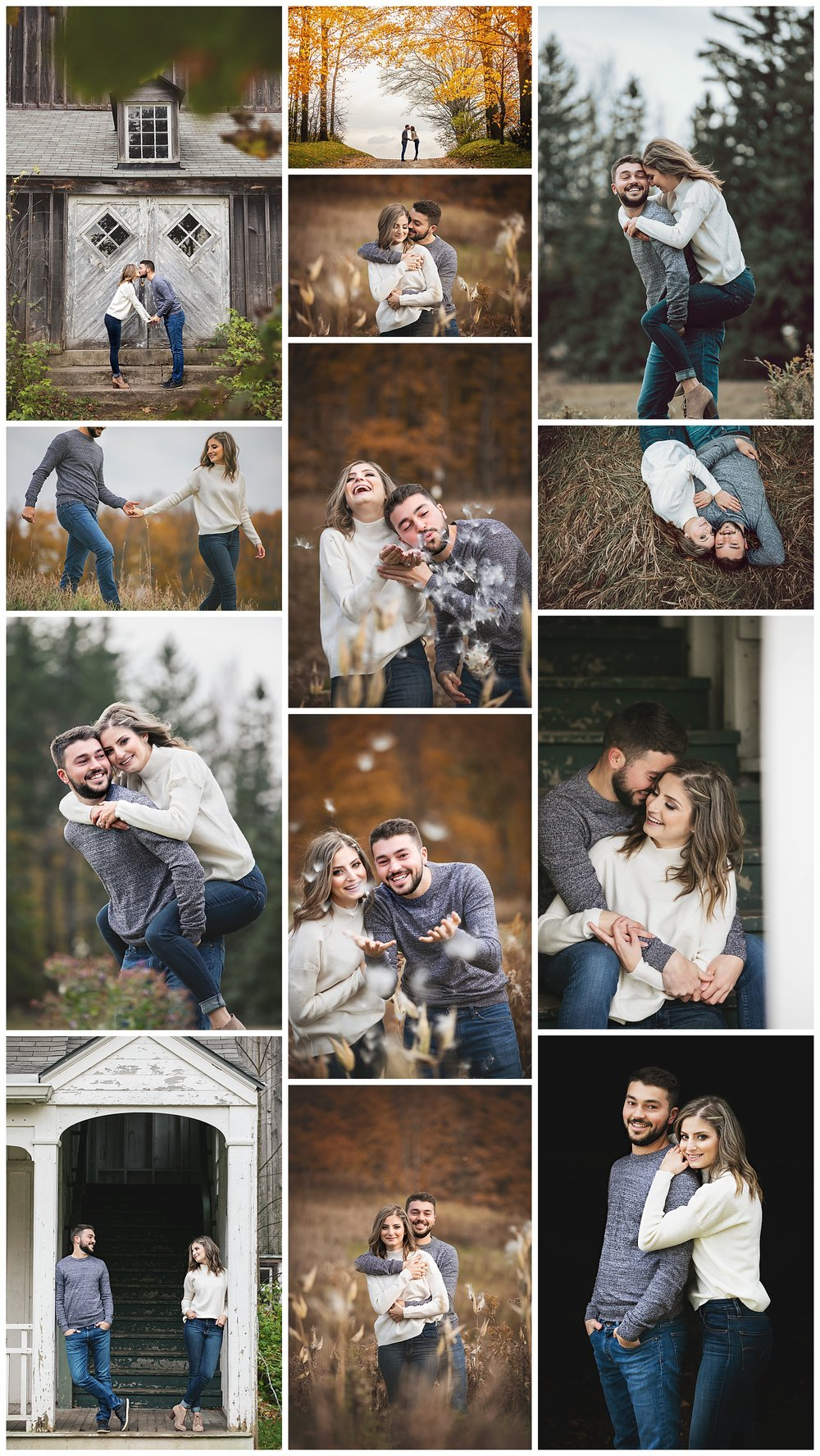 Scotsdale Farm, Halton Hills, Georgetown, Ontario engagement photography by VanDaele & Russell