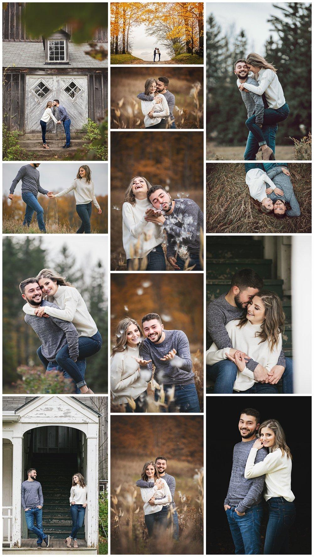 Scotsdale Farm, Halton Hills, Georgetown, Ontario engagement photography by VanDaele & Russell