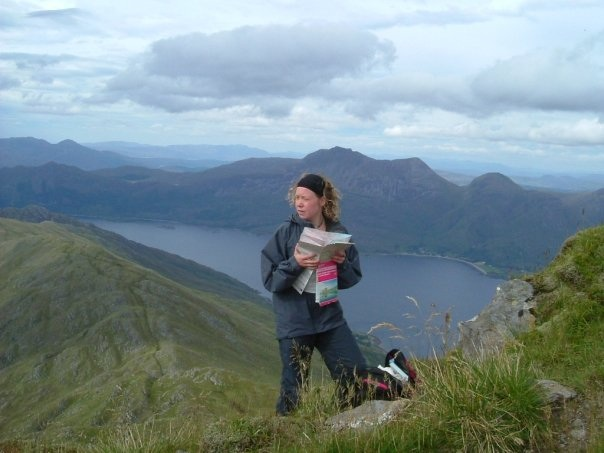 - On the Knoydart Mountains