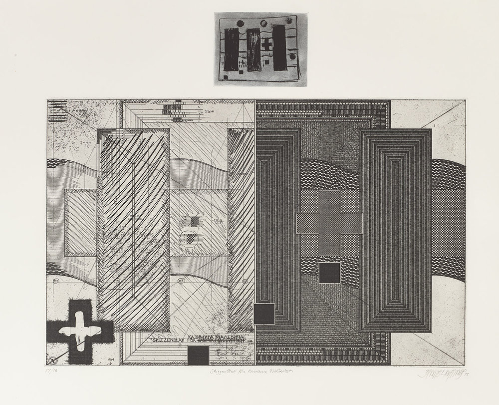 015_J. Gachnang_Skizzenblatt für Kasimir MalewitschII_1971.jpg