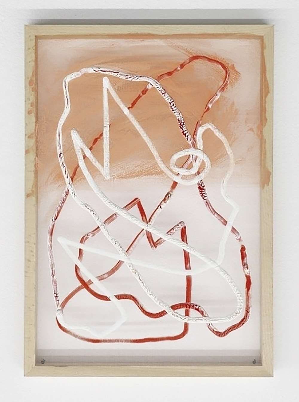 003_Baker, Nathan_When I Was A Boy I Used To Get Into A Bath With My Sister_2013_oil on organza_42x30cm_photo Nick Ash.jpg