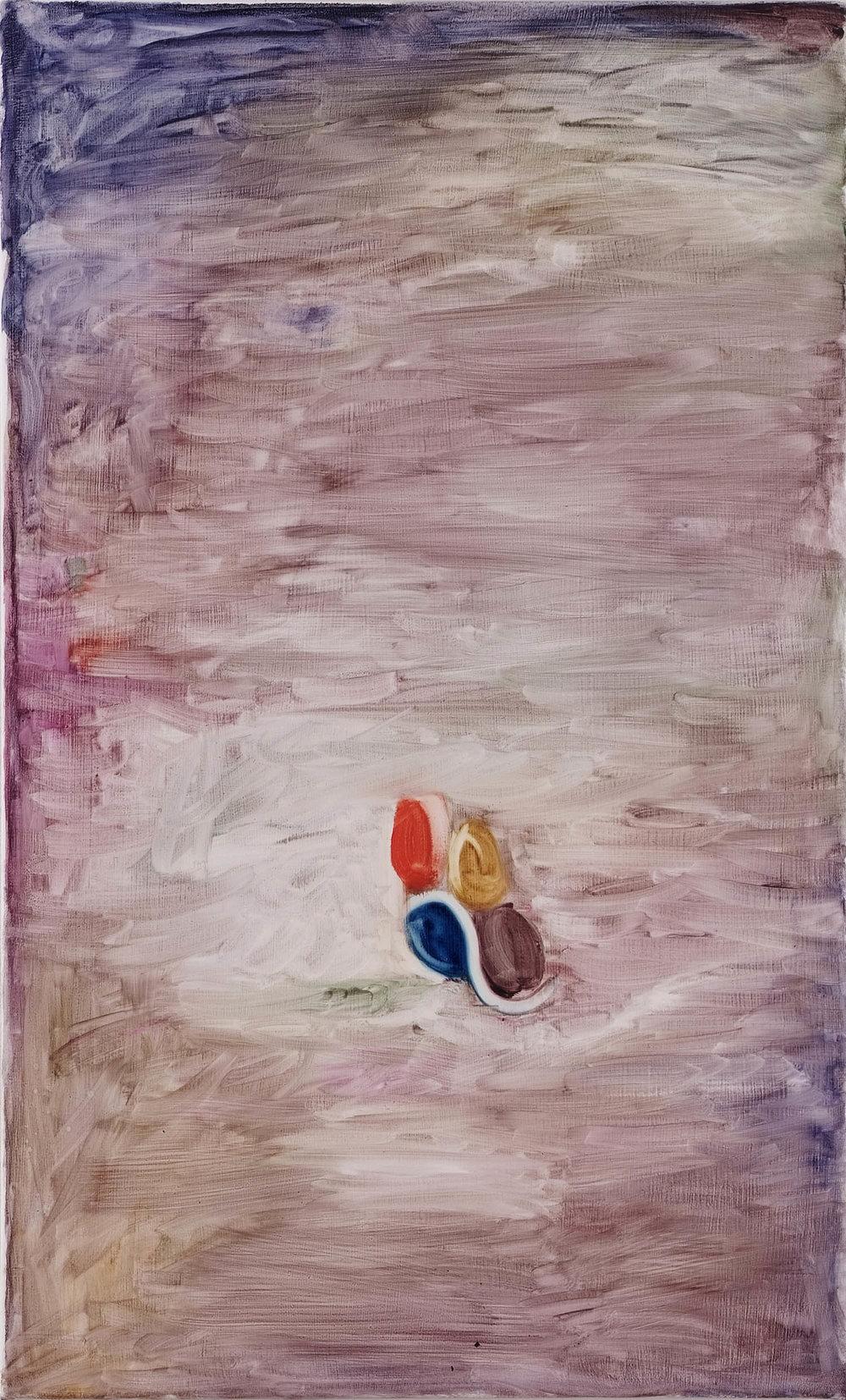 Untitled | 2009 | Öl auf Leinwand | 65 x 40 cm