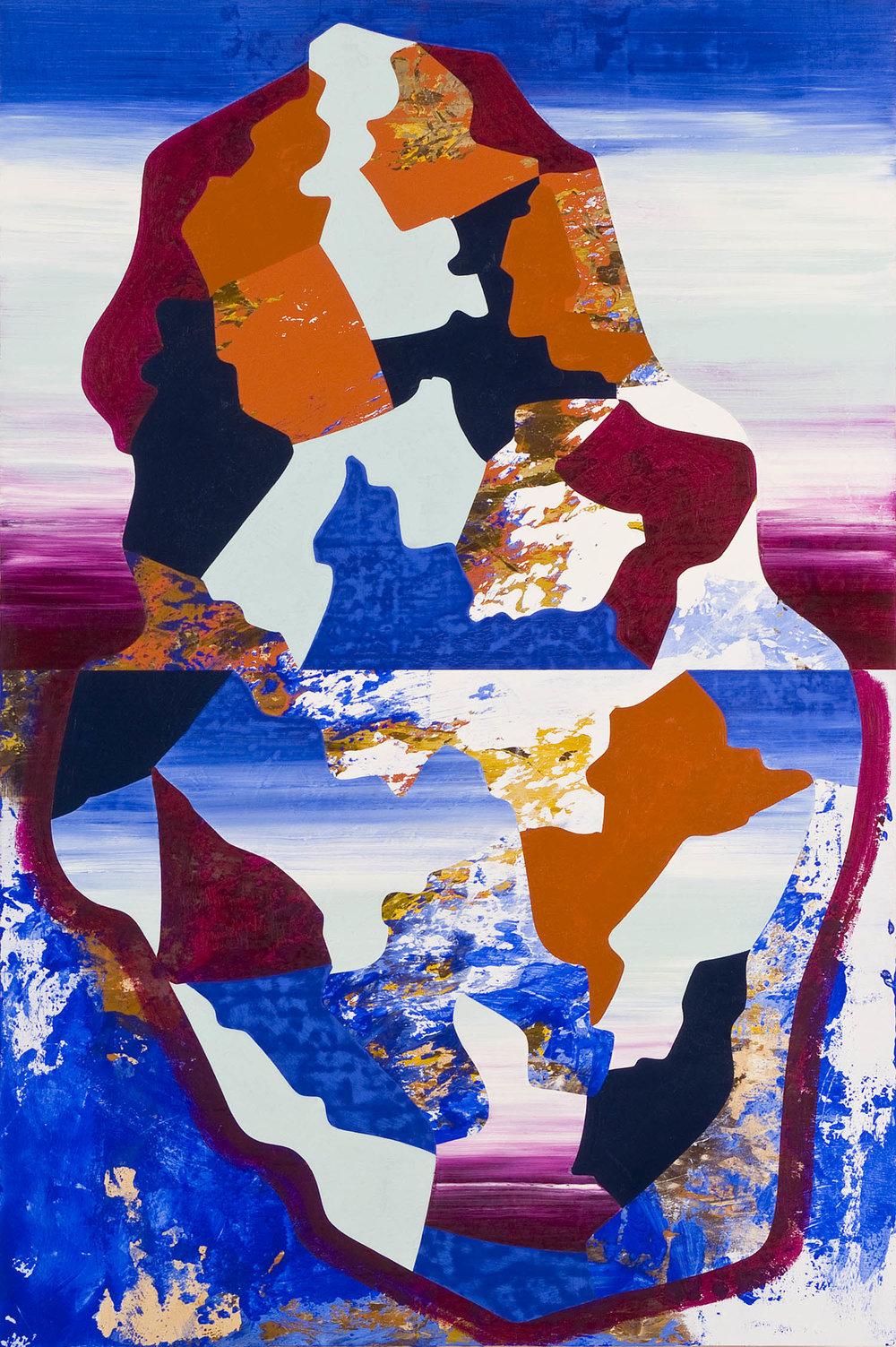 Untitled | 2008 | Öl und Acryl auf Holz | 91,5 x 61 cm