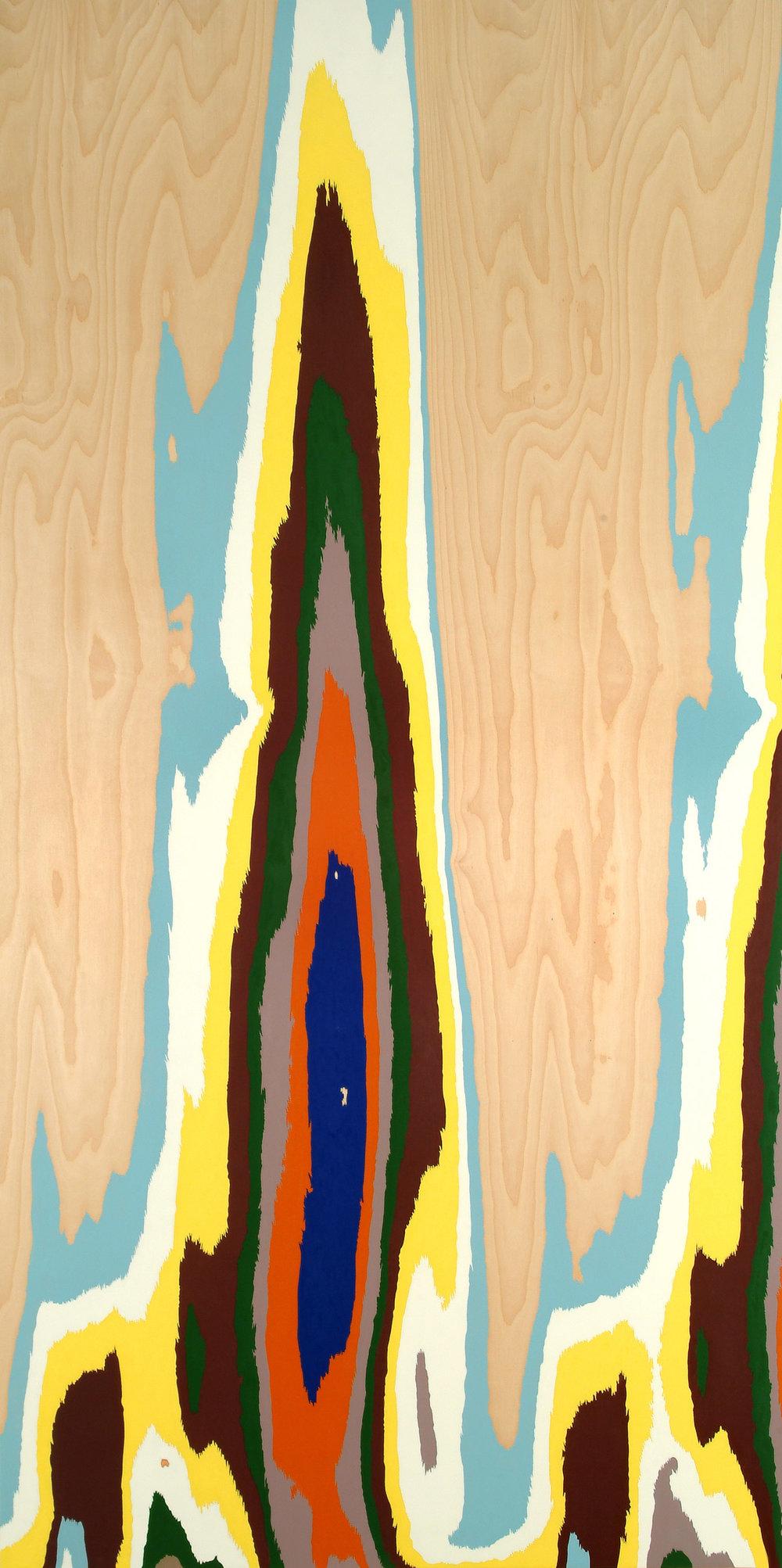 o.T. | 2005 | Lack auf Holz | 244 x 122 cm