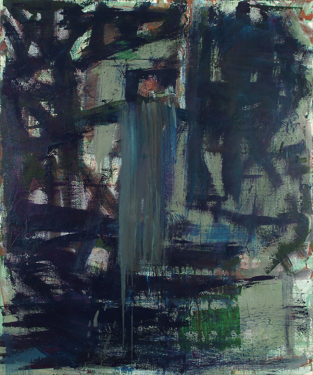Short Stop | 2007 | Öl auf Jute | 153 x 127 cm