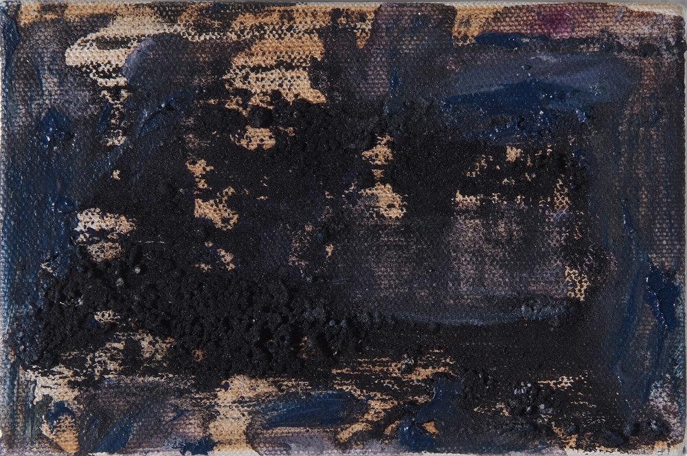 Untitled |2001 | Öl auf Leinwand | 10 x 15,3 cm