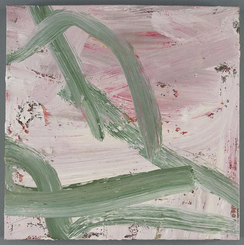 Untitled | 1971 | Öl auf Leinwand | 25,5 x 25,5 cm