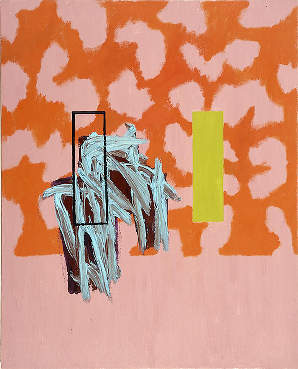 The Excessive Norm | 1985 | Öl auf Leinwand | 76 x 61 cm