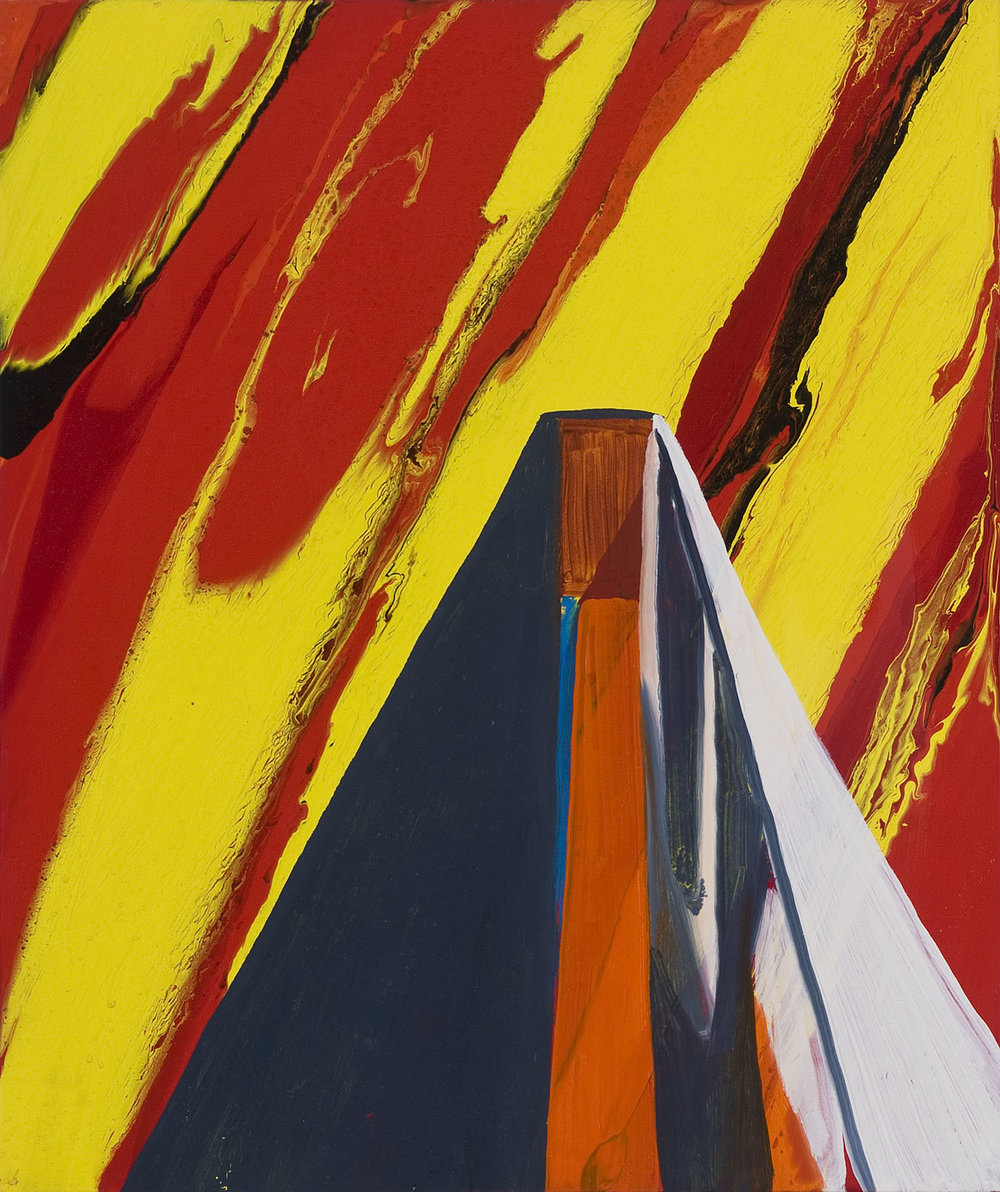 The End Justifies The Means | Öl und Acryl auf Leinwand | 2003 | 61,5 x 51 cm