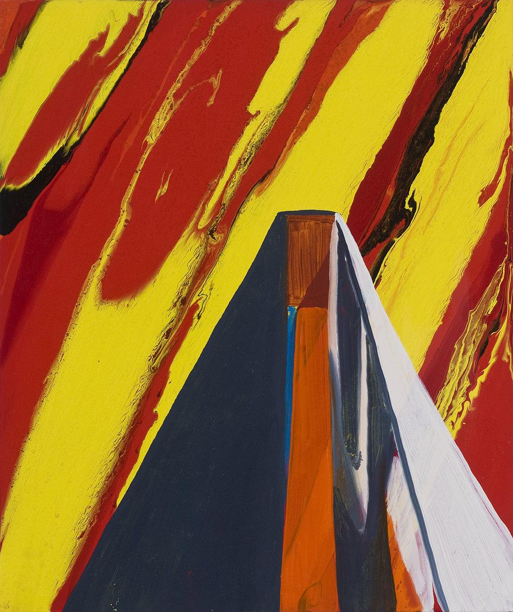 The End Justifies The Means | Öl und Acryl auf Leinwand | 2003 | 61,5 x 51 cm