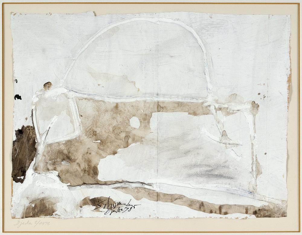 Djerba | 1978 | Mischtechnik auf Papier | 29,5 x 40 cm