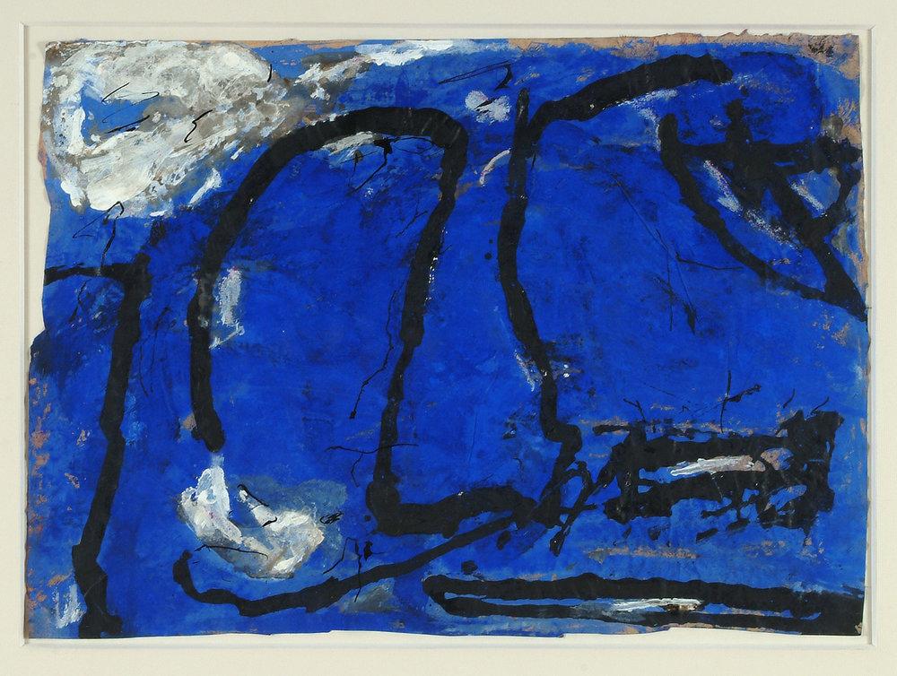 o.T. | Mischtechnik auf Papier | 1986 | 40 x 57,5 cm