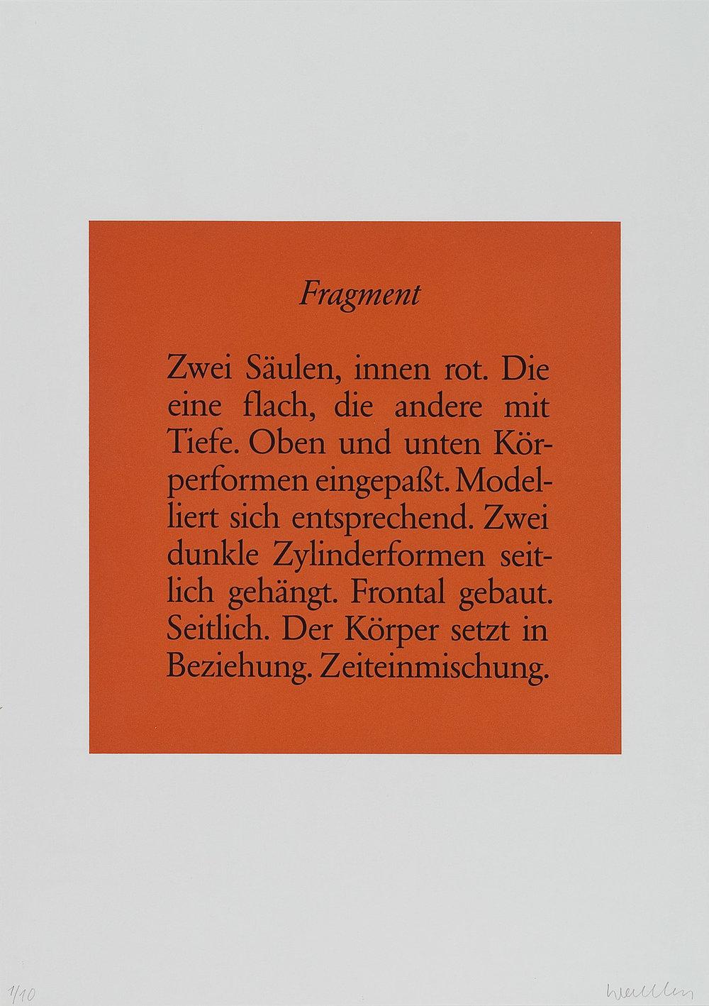 o.T. | 1986 | Lithographie | 60 x 42 cm