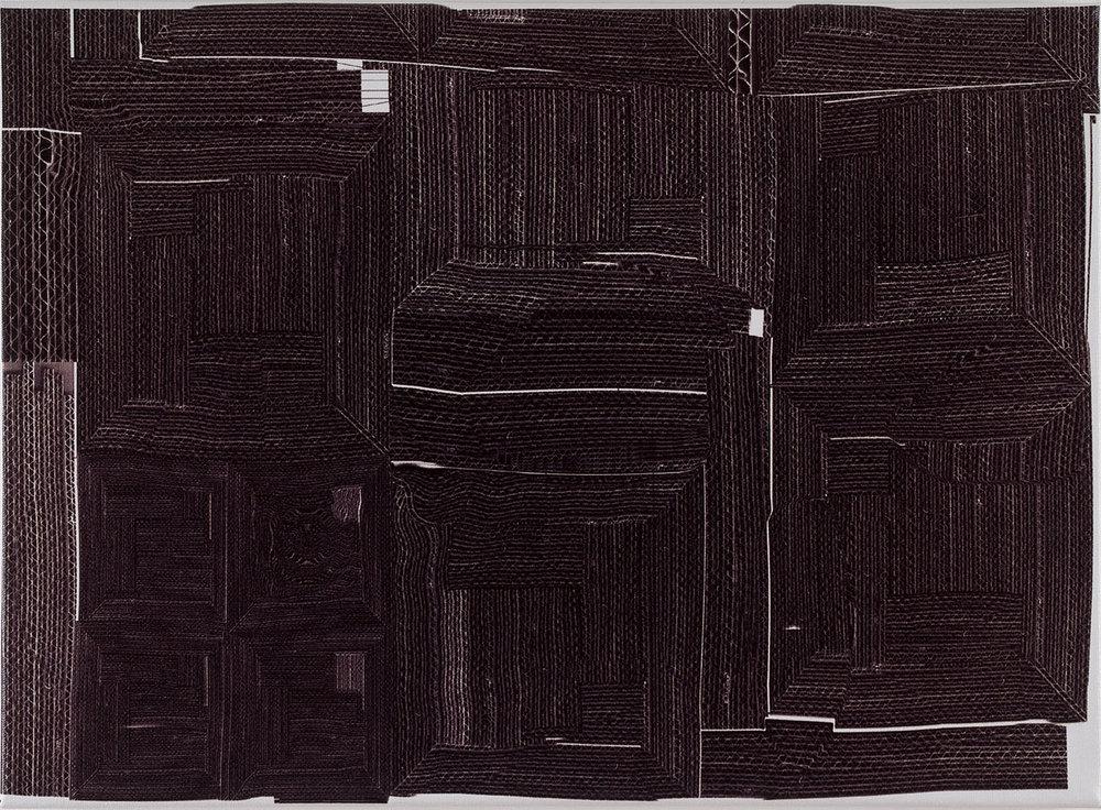 W. W. | 1997 | Inkjet auf Leinwand | 48 x 51 cm