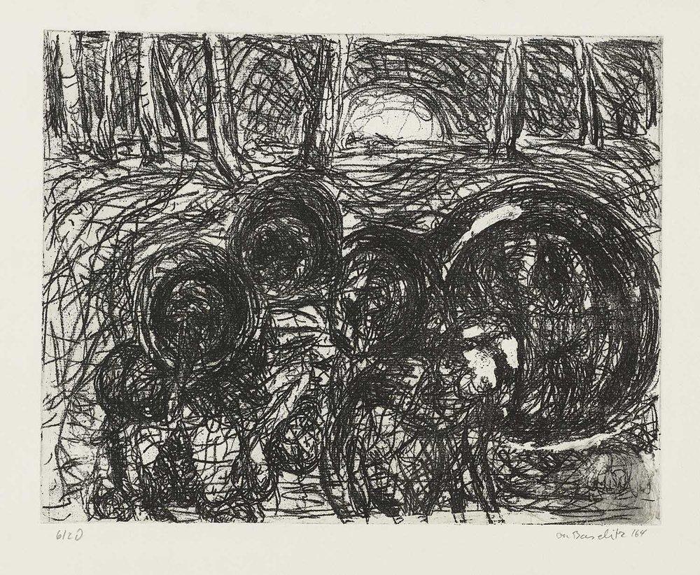 001_Georg Baselitz_Der Wald_1964.jpg