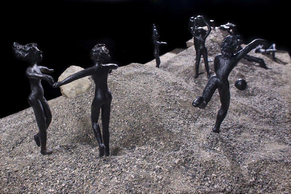 Installation 2013 | Pinakothek Gaeta Odysseus erwacht | Teilansicht
