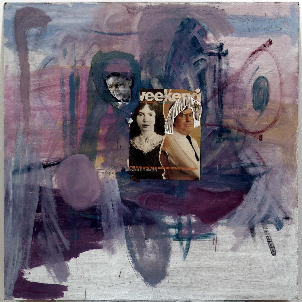 o.T. | 1999 | Öl und Mischtechnik auf Rigipsplatte | 108 x 78 cm