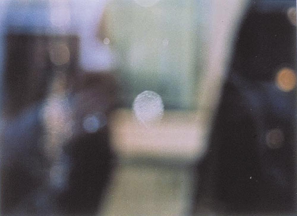 o. T. (Fingerabdruck auf Schaufensterscheibe von Luxusladen) | 1995 | Fotografie | 15 x 21 cm